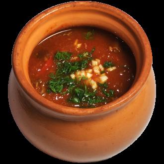Итальянский густой суп